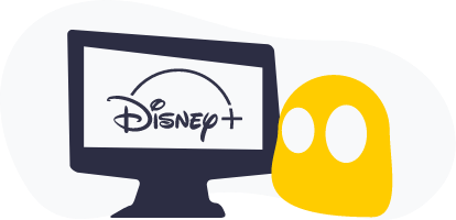 CyberGhost Disney + Graphic