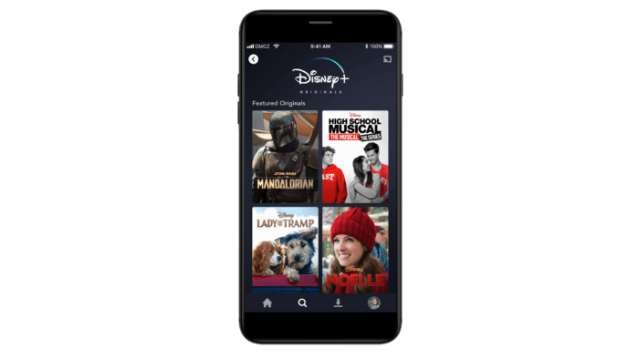 Disney + Press Asset of Mobile