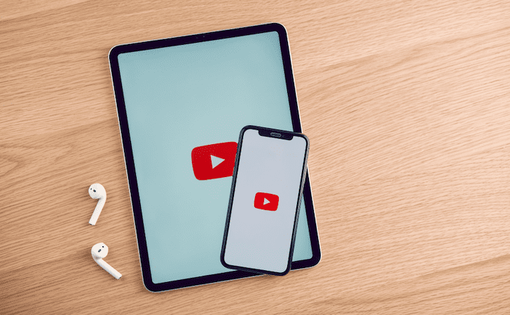 Telefona ve tablete YouTube yükleme